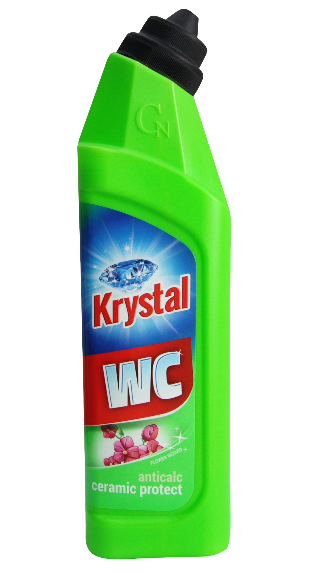 KRYSTAL na WC  zelený 750ml
