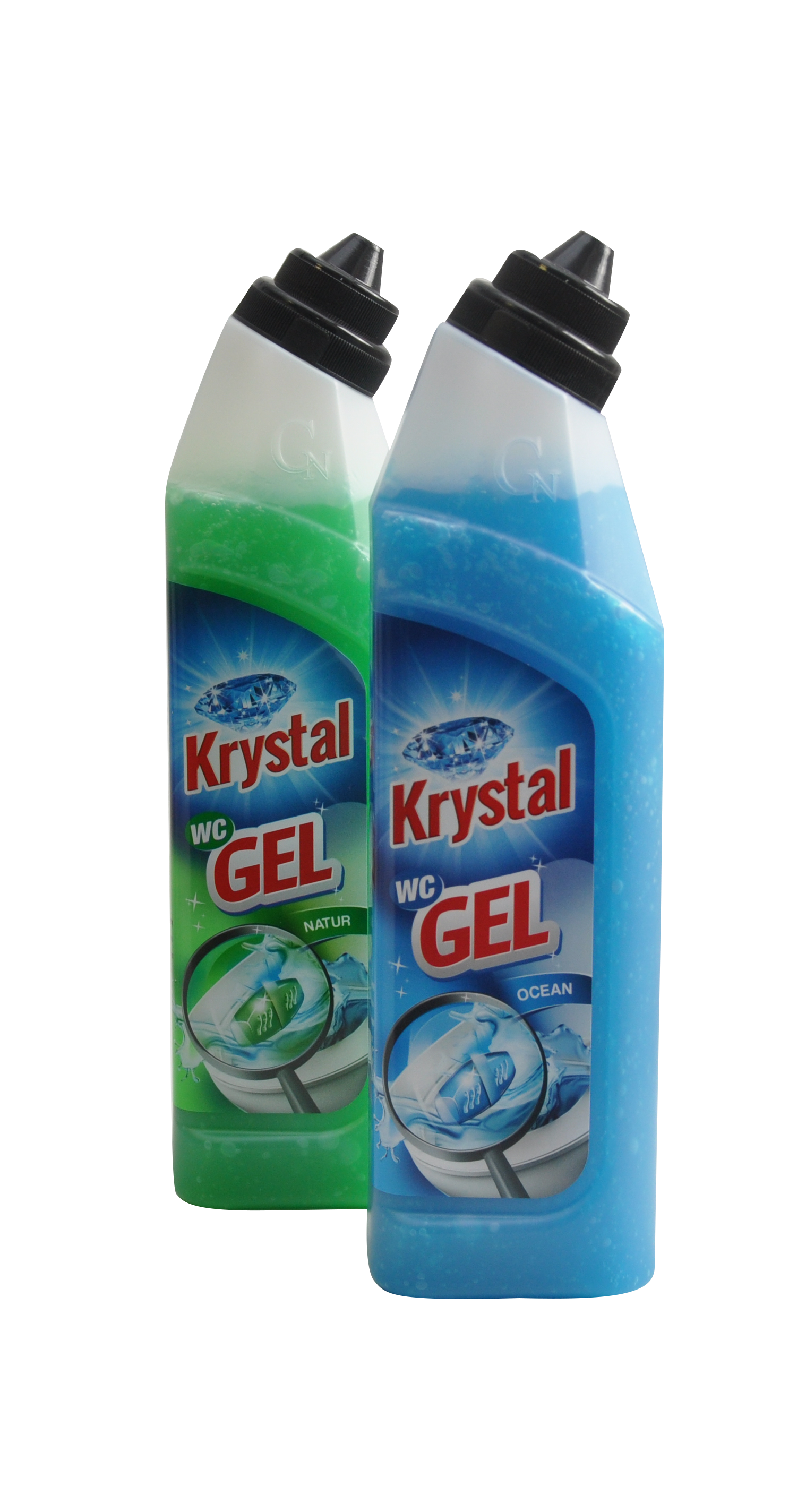 KRYSTAL WC gel - zelený 750ml